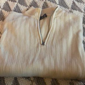 Long sleeve cream sweater
